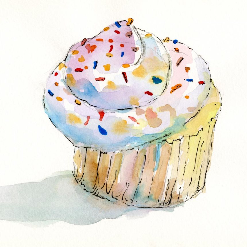 2012_Watercolor_cupcake_6x6_web
